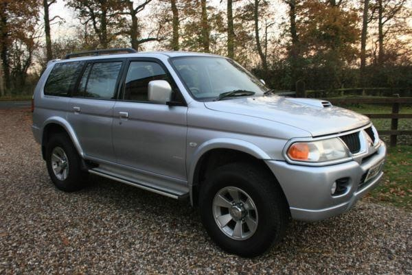 used Mitsubishi Shogun Sport TD Warrior in chelmsford-essex