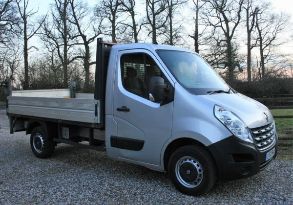 used Renault Master ML35dCi 125 Low Roof Dropside in chelmsford-essex