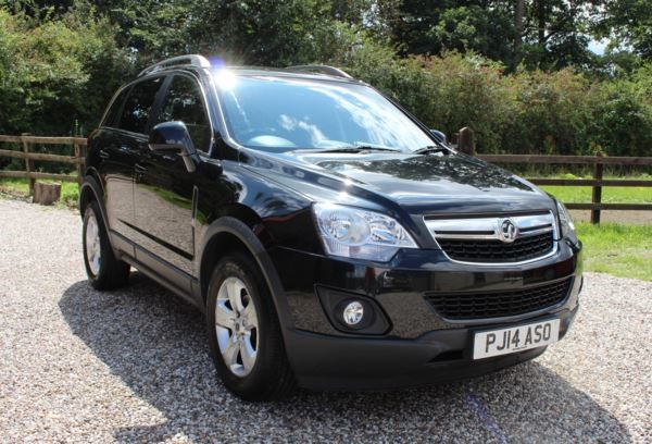 used Vauxhall Antara CDTi Exclusiv 5dr [2WD] [Start Stop] in chelmsford-essex