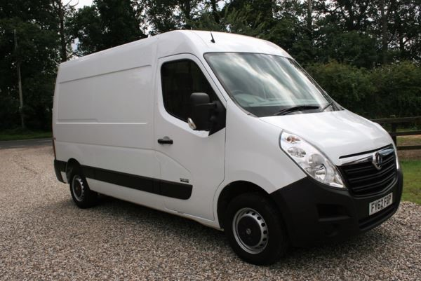used Vauxhall Movano CDTI L2 H2 Van 125ps Euro 4 in chelmsford-essex