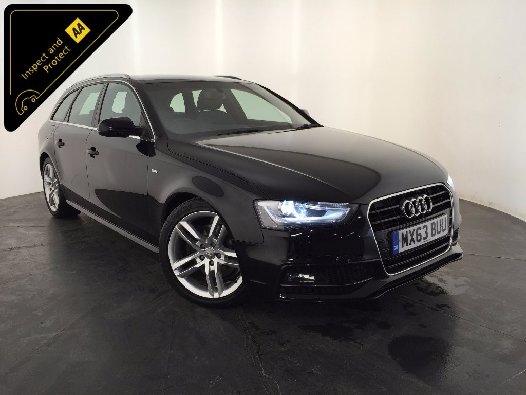 used black audi a4 avant for sale leicestershire. Black Bedroom Furniture Sets. Home Design Ideas