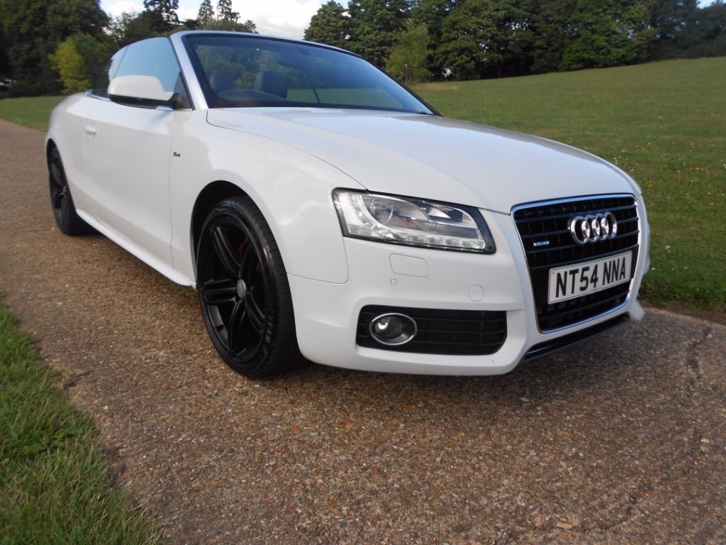 Used White Audi A For Sale Hertfordshire - White audi a5