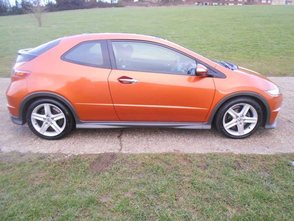 Used Orange Honda Civic For Sale Hertfordshire