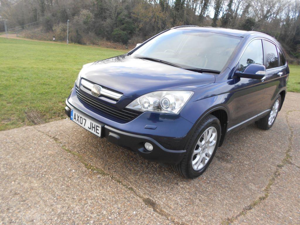 Used blue honda cr v for sale hertfordshire for Honda cr v brochure