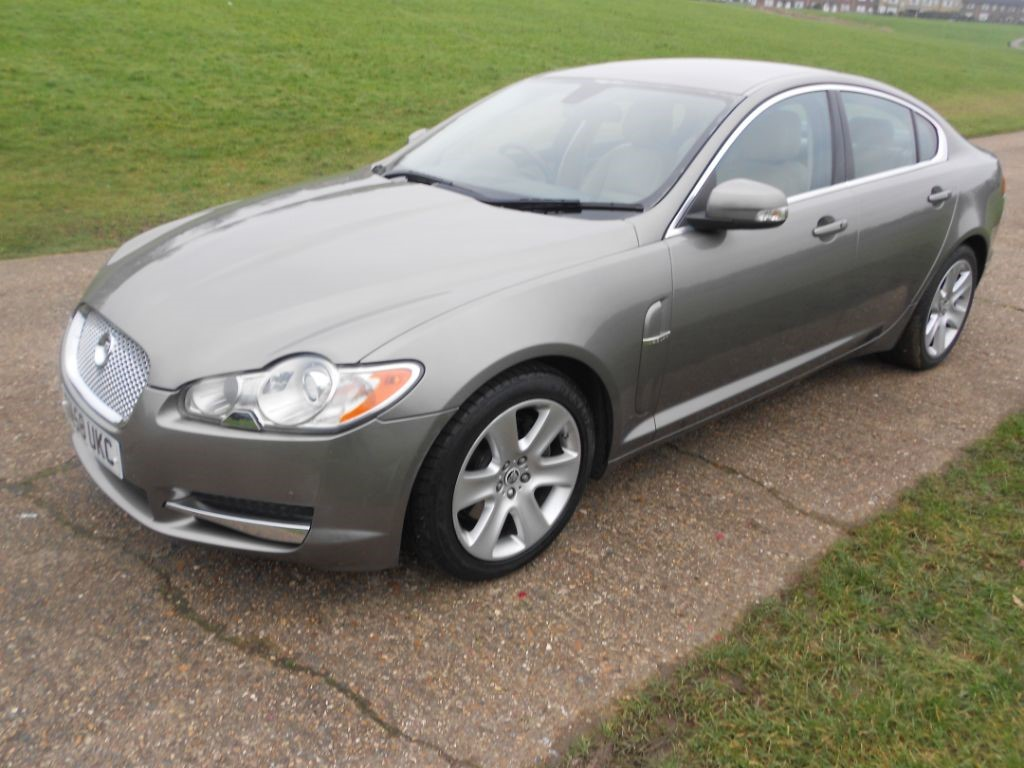 used grey jaguar xf for sale | hertfordshire