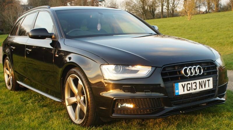 used Audi A4 a4 s line black edition tdicvt in hemel-hempstead-hertfordshire
