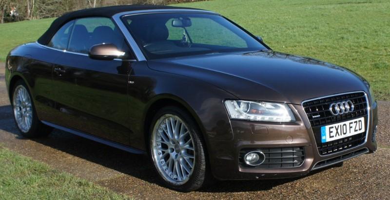 used Audi A5 TDI QUATTRO S LINE in hemel-hempstead-hertfordshire