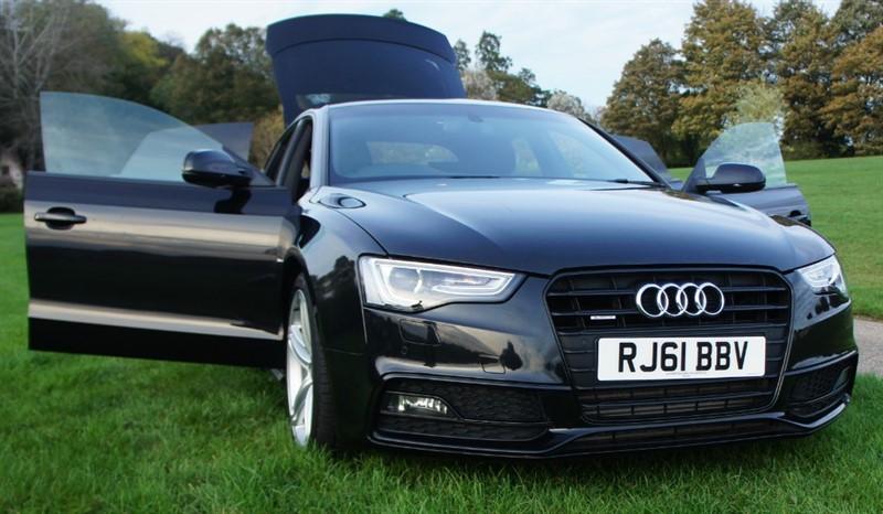 used Audi A5 SPORTBACK TDI QUATTRO S LINE in hemel-hempstead-hertfordshire