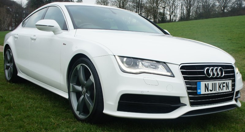 used Audi A7 TDI S LINE in hemel-hempstead-hertfordshire