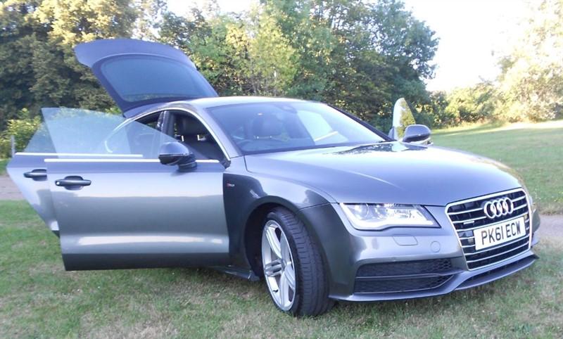 used Audi A7 TDI QUATTRO S LINE in hemel-hempstead-hertfordshire