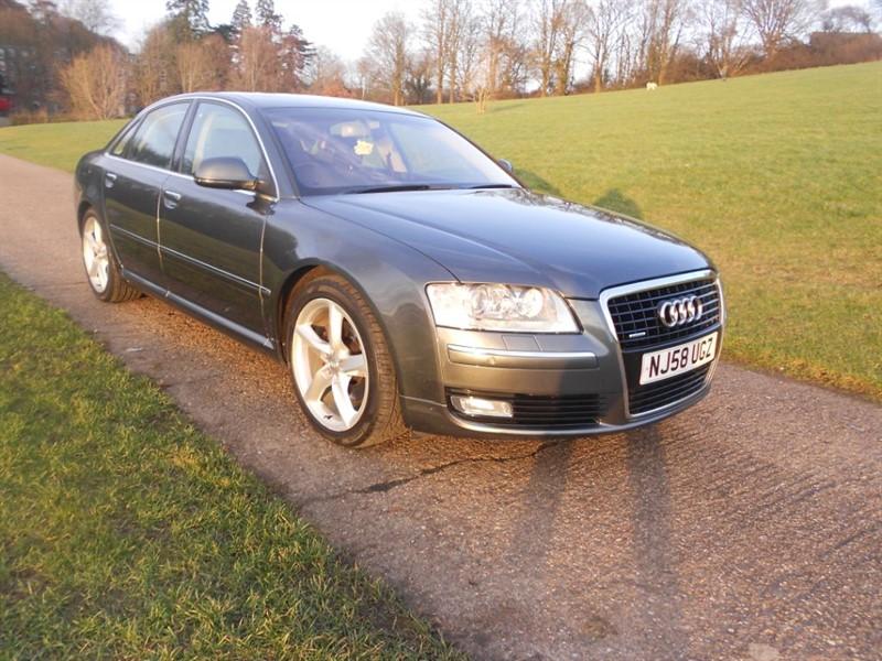 used Audi A8 TDI QUATTRO DPF SPORT in hemel-hempstead-hertfordshire