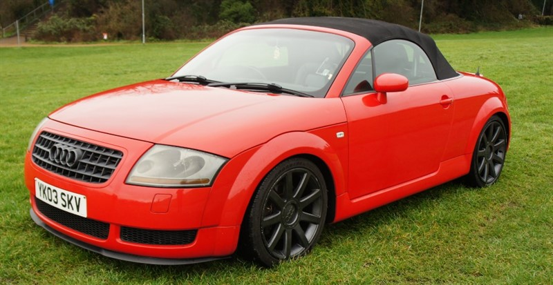 used Audi TT ROADSTER QUATTRO (225BHP) in hemel-hempstead-hertfordshire