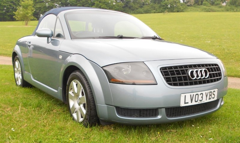 used Audi TT ROADSTER in hemel-hempstead-hertfordshire