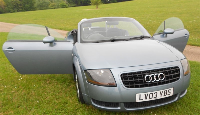 used Audi TT ROADSTER in hemel-hempstead-hertfordshire