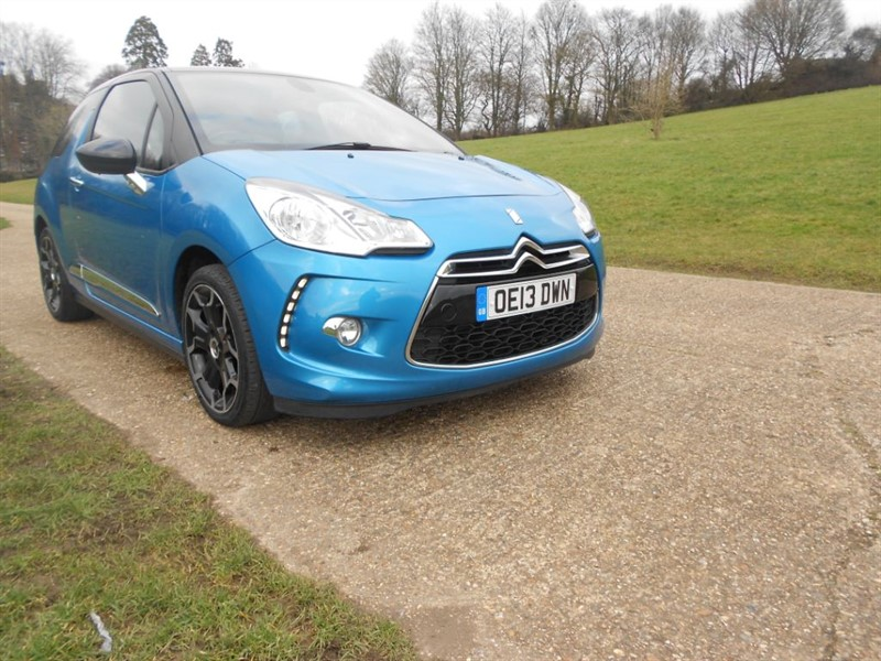 used Citroen DS3 E-HDI DSTYLE PLUS in hemel-hempstead-hertfordshire