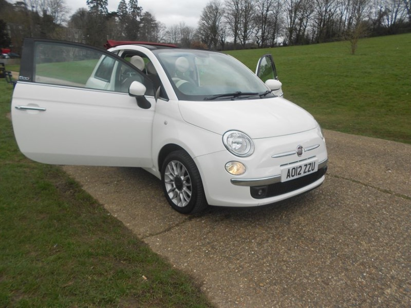 used Fiat 500 C LOUNGE in hemel-hempstead-hertfordshire