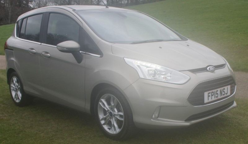used Ford B-Max TITANIUM X in hemel-hempstead-hertfordshire
