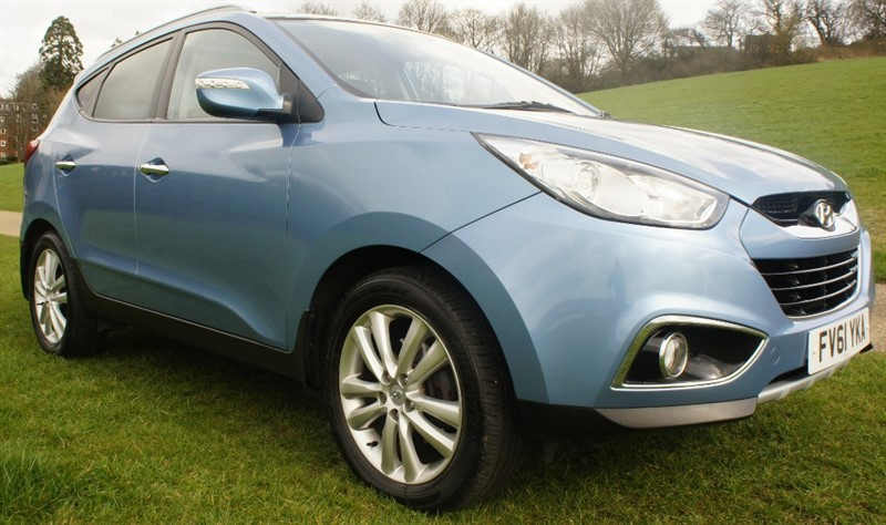 used Hyundai ix35 CRDI PREMIUM in hemel-hempstead-hertfordshire