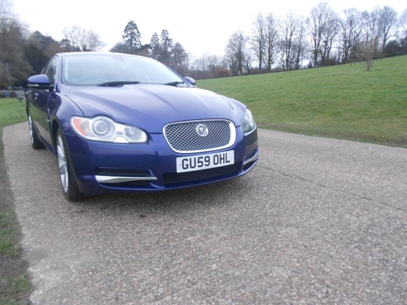 used Jaguar XF V6 LUXURY in hemel-hempstead-hertfordshire