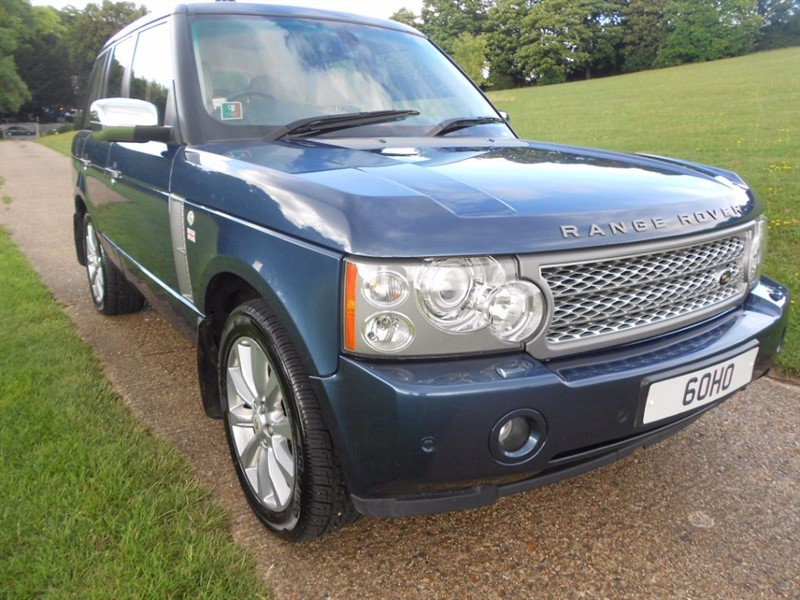 used Land Rover Range Rover V8 SUPERCHARGED in hemel-hempstead-hertfordshire