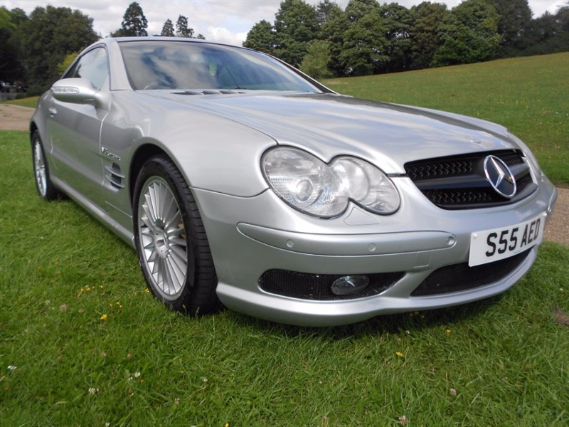 used Mercedes SL SL55 AMG KOMPRESSOR in hemel-hempstead-hertfordshire