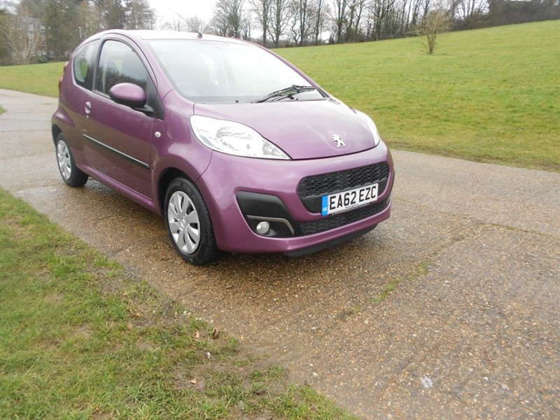 used Peugeot 107 ACTIVE in hemel-hempstead-hertfordshire