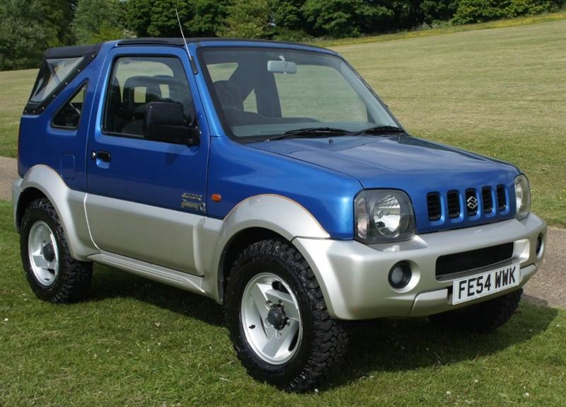 used Suzuki Jimny 02 S/T in hemel-hempstead-hertfordshire