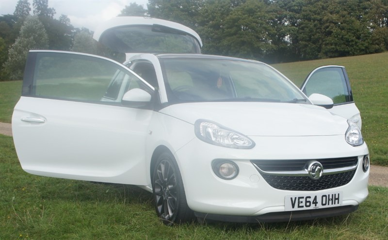 used Vauxhall Adam GLAM in hemel-hempstead-hertfordshire