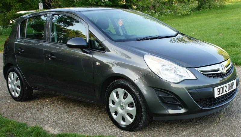 used Vauxhall Corsa EXCLUSIV AC in hemel-hempstead-hertfordshire