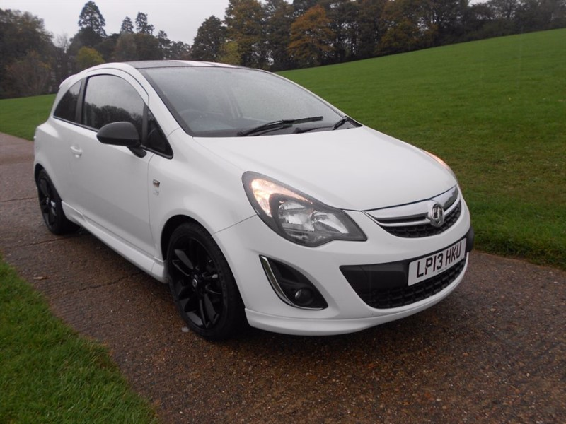 used Vauxhall Corsa LIMITED EDITION in hemel-hempstead-hertfordshire