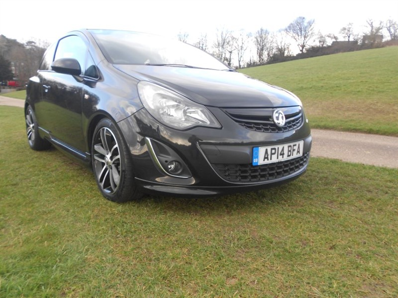 used Vauxhall Corsa BLACK EDITION in hemel-hempstead-hertfordshire