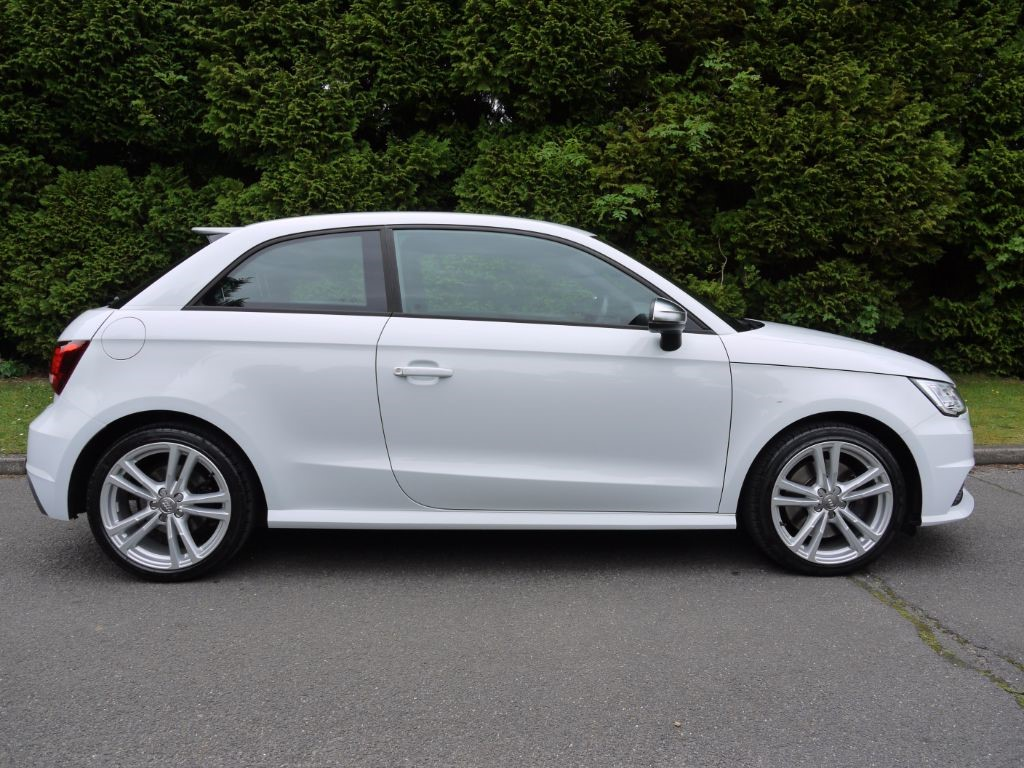 used glacier white metallic audi a1 for sale surrey. Black Bedroom Furniture Sets. Home Design Ideas