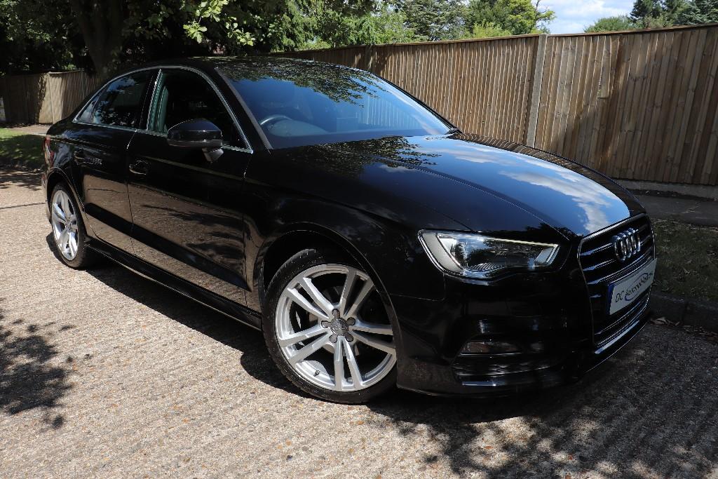 Used Mythos Black Metallic Audi A3 for Sale | Surrey