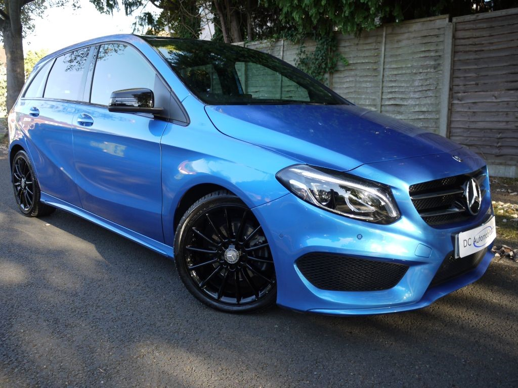 used south seas blue mercedes b200 cdi for sale surrey. Black Bedroom Furniture Sets. Home Design Ideas