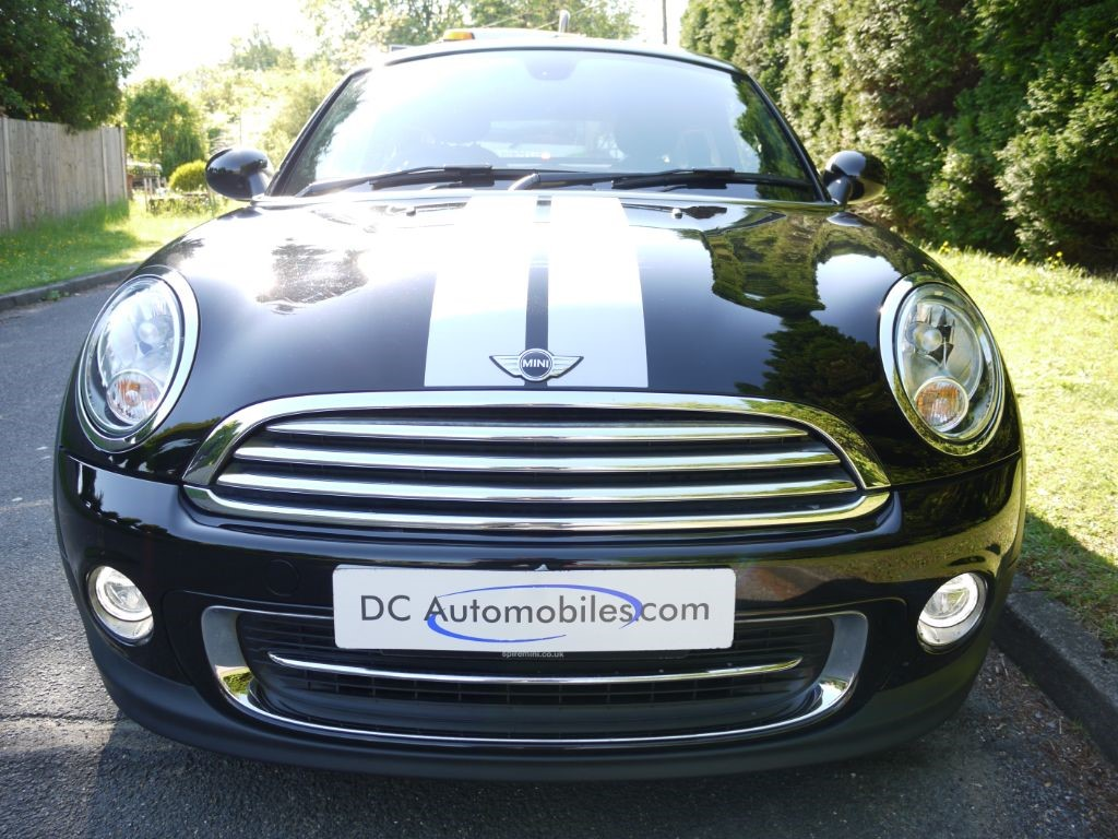 Used midnight black mini coupe for sale surrey video publicscrutiny Images