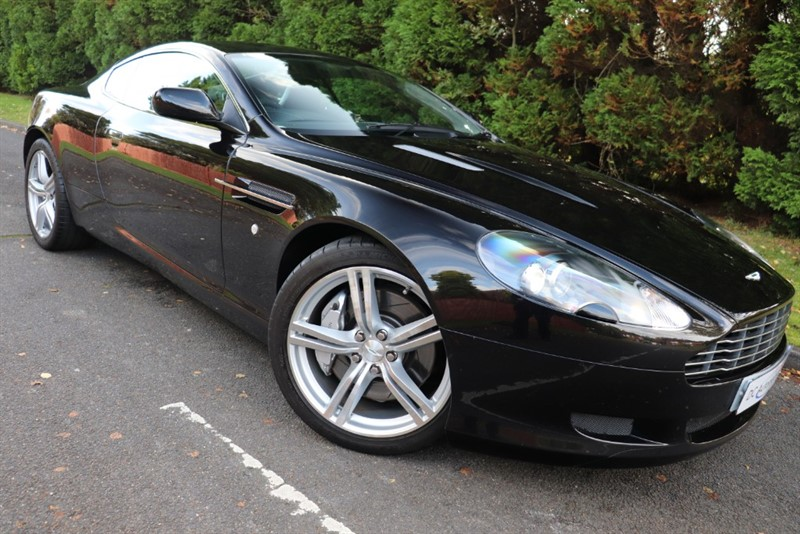 used Aston Martin DB9 V12 in surrey