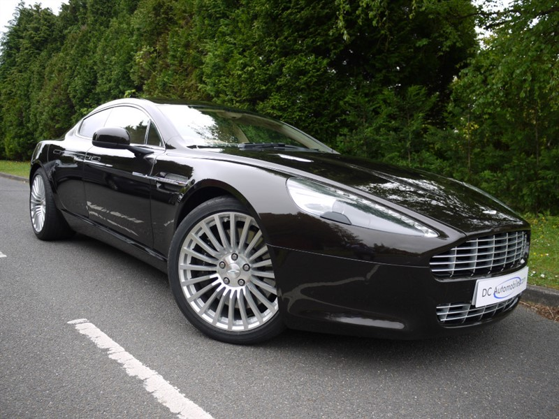 used Aston Martin Rapide Luxe V12 Touchtronic 4dr in surrey