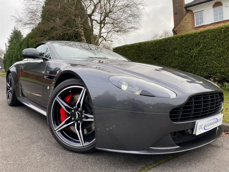 used Aston Martin Vantage S V8 ROADSTER in surrey