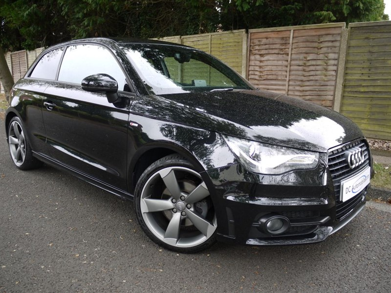 used Audi A1 TDI S LINE BLACK EDITION in surrey