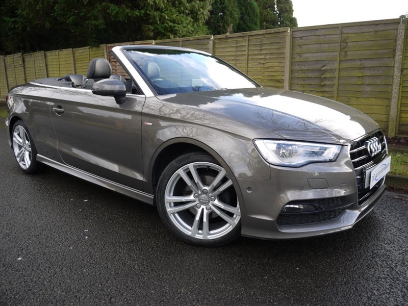 used Audi A3 TDI S LINE in surrey