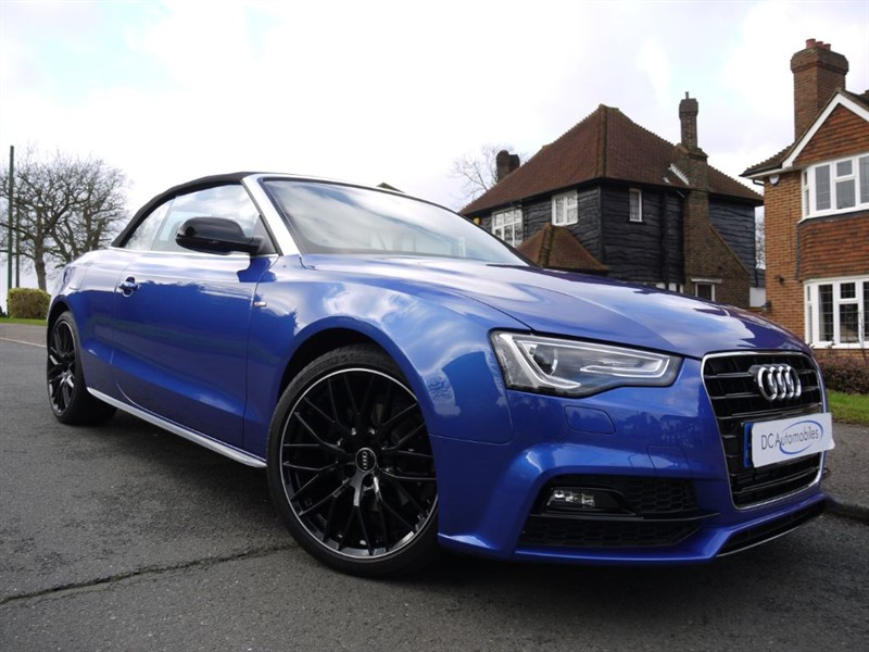 used Audi A5 TDI S LINE SPECIAL EDITION PLUS in surrey