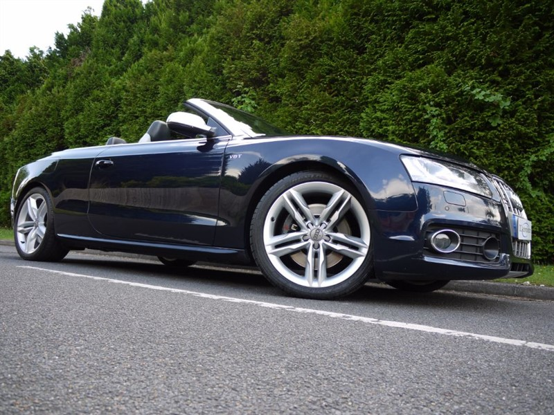 used Audi A5 S5 TFSI QUATTRO in surrey