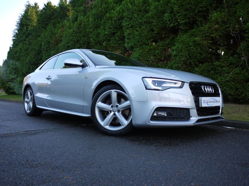 used Audi A5 TFSI S LINE in surrey