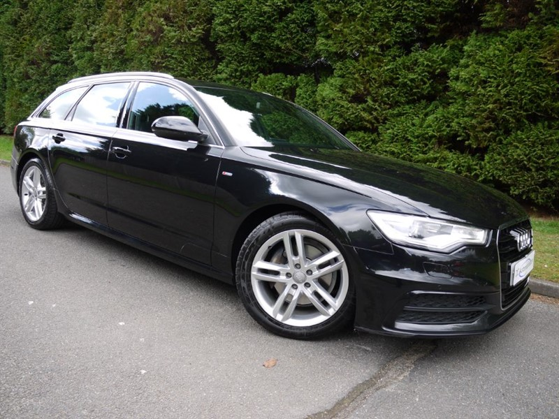 used Audi A6 Avant TDI S LINE in surrey