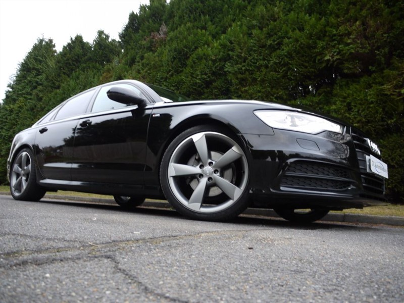 used Audi A6 TDI S LINE BLACK EDITION in surrey