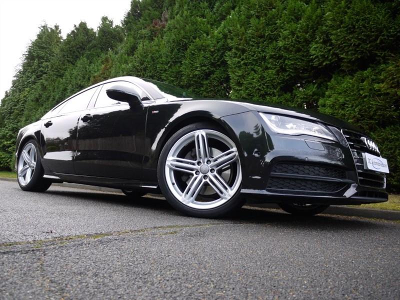 used Audi A7 TDI QUATTRO S LINE in surrey