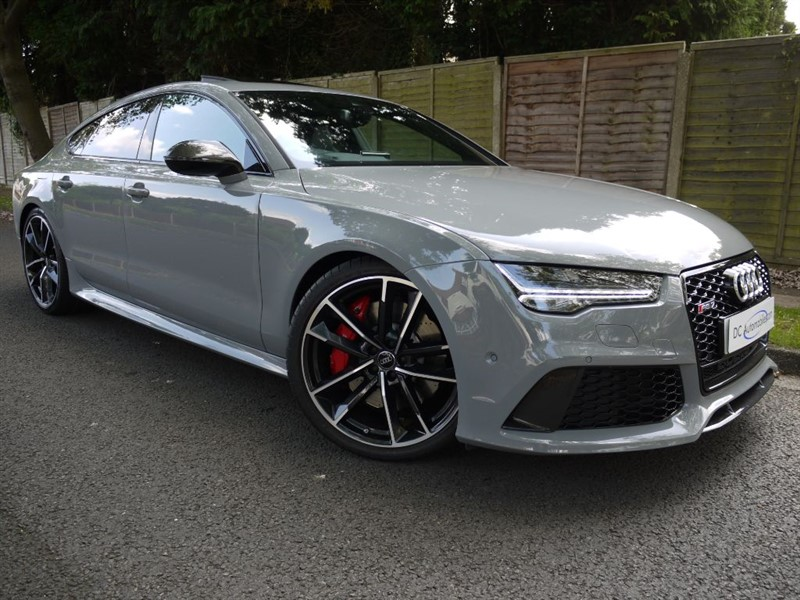 used Audi A7 RS7 PLUS SPORTBACK TFSI QUATTRO in surrey