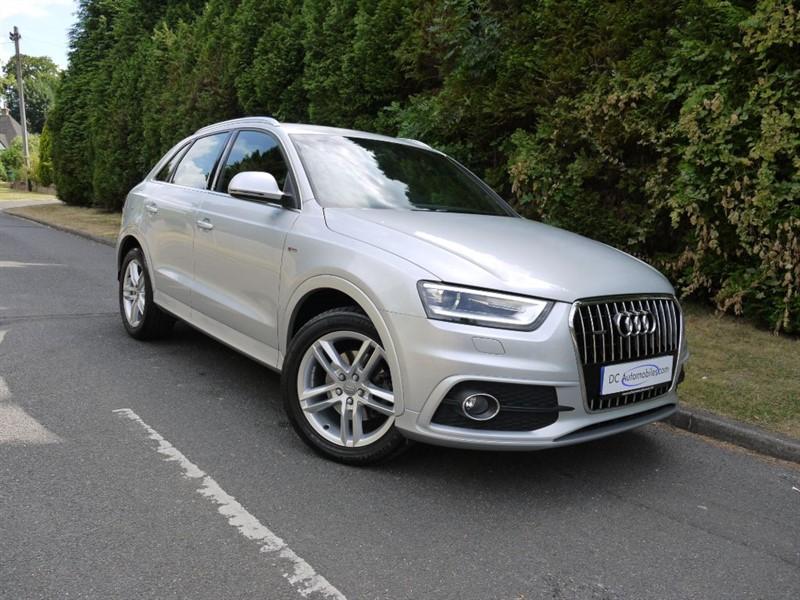 used Audi Q3 TDI QUATTRO S LINE in surrey