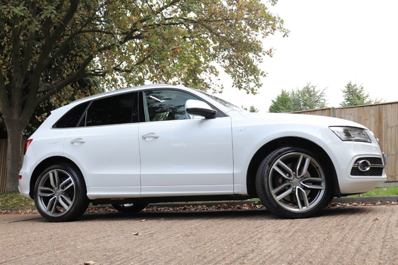 Used Glacier White Metallic Audi Q5 for Sale | Surrey