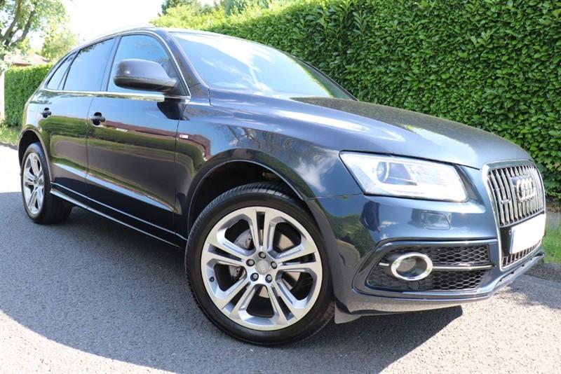 used Audi Q5 TDI QUATTRO S LINE PLUS in surrey